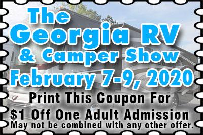 Greater Atlanta Rv Show 2020.Georgia Rv Camper Show Cobb Galleria Centre